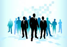 Large Business Team Royalty Free Stock Photography