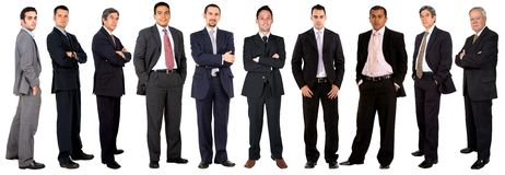 Large business team Stock Image
