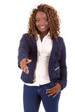 Large business woman Royalty Free Stock Image