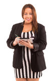 Large business woman Royalty Free Stock Photo