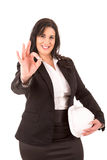 Large business woman Stock Image