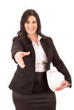 Large business woman Royalty Free Stock Photography