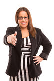 Large business woman Stock Photo