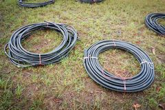 Cable wires Stock Images