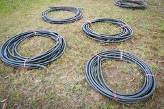Cable wires Royalty Free Stock Photography