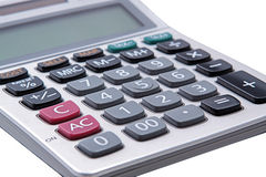 Large calculator. Stock Photo