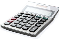 Large calculator. Royalty Free Stock Photo
