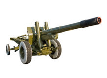 Large-caliber howitzer (152 mm) Royalty Free Stock Image