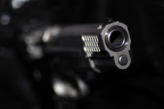 Large caliber weapon Smith and Wesson Royalty Free Stock Photography