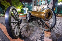 Large Cannon in Denver Royalty Free Stock Photography