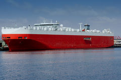 Large car carrier ship Royalty Free Stock Image