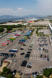 Large car park at Airport Royalty Free Stock Images