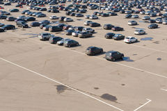 Large car parking Royalty Free Stock Images