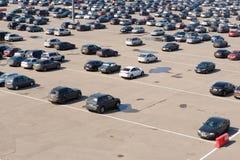 Large parking Royalty Free Stock Image