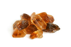 Large caramelized sugar Royalty Free Stock Photo