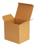 Large carboard box Stock Images