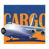 Large cargo aircraft Royalty Free Stock Photo