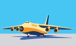 Large cargo plane Royalty Free Stock Images