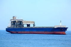 Large cargo ship Stock Photography