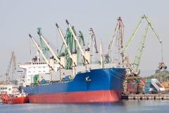 Large cargo ship Royalty Free Stock Photography