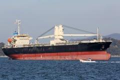 Large cargo ship Stock Images