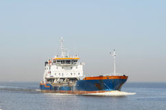 Large cargo ship Royalty Free Stock Images