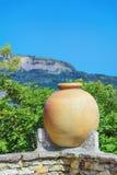 Large Ceramic Pot Stock Image