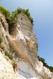 Large chalk cliffs Stock Photo