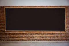 Large chalkboard in classroom Stock Photo