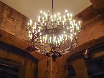 Large chandelier Stock Images