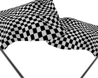 Large Checkered Flag Stock Photos