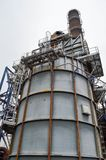Large chemical capacity at the oil refinery. Large chemical capacity at the oil refinery, new equipment Royalty Free Stock Image