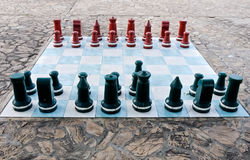 Large chess Stock Images