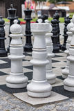 A large chessboard Stock Photography
