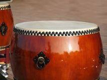 Large Chinese Drums Royalty Free Stock Photography