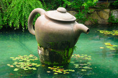 Large Chinese Tea pot Royalty Free Stock Images
