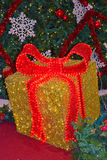 A Large Christmas Gift Box Royalty Free Stock Photo