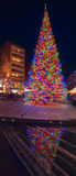 Large Christmas tree in Berlin Royalty Free Stock Photography