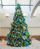 Large Christmas Tree Stock Image