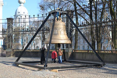 Large church bell. Stock Photography