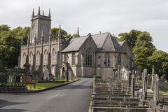 Large church in North Ireland Royalty Free Stock Photo