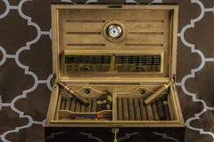 Large Cigar Humidor 2 Stock Images