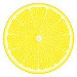 Large circle of lemon Stock Image