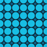 Large circles and small rounded rectangles Royalty Free Stock Images
