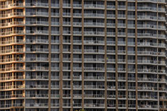 Large city apartment block Stock Images