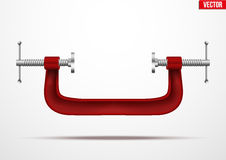 Large clamp compression tool. Stock Images