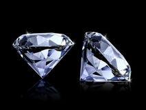 Free Large Clear Diamond, White Background Royalty Free Stock Photos - 139055318
