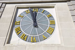 Large clock Stock Images
