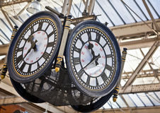Large clock Stock Photo