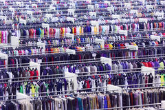 Large clothing store Royalty Free Stock Photography